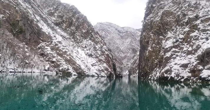 Winter journey to Komani Lake - Komani Lake Holidays